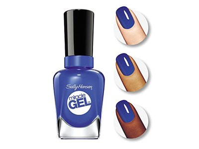Sally Hansen Miracle Gel Nail Polish, Tidal Wave, 0.5 Ounce - Image 4