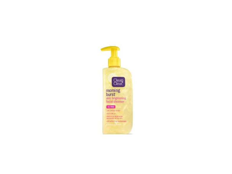 Clean & Clear Morning Burst Skin Brightening Facial Cleanser, Johnson & Johnson