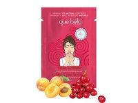 Que Bella Travel Size Cherry & Apricot Facial Exfoliating Cleanser, 0.5 Oz - Image 2