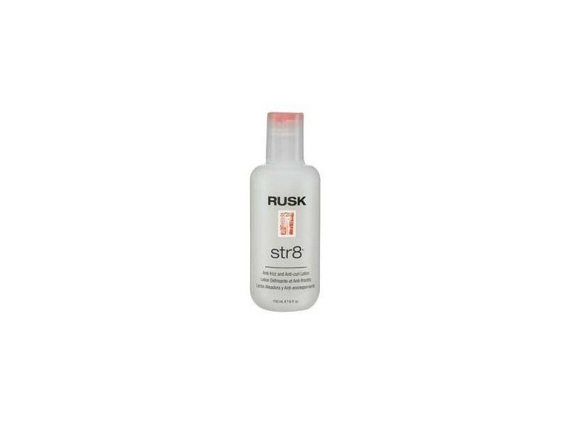 Rusk Str8 Anti-Frizz Lotion Unisex Lotion, 6 fl oz