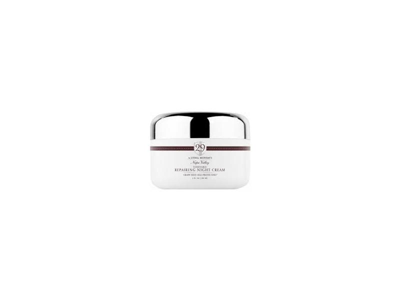 29 by Lydia Mondavi Vineyard Repairing Night Cream, 2 fl oz