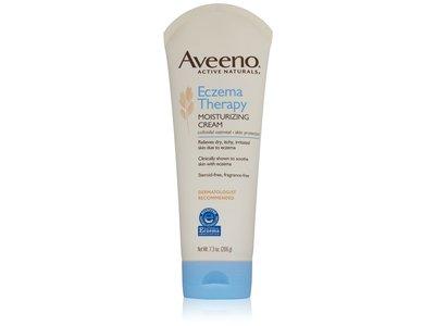 Aveeno Eczema Therapy Moisturizing Cream, Johnson & Johnson - Image 1