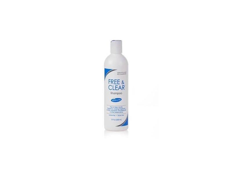 Free & Clear Shampoo, 12 oz