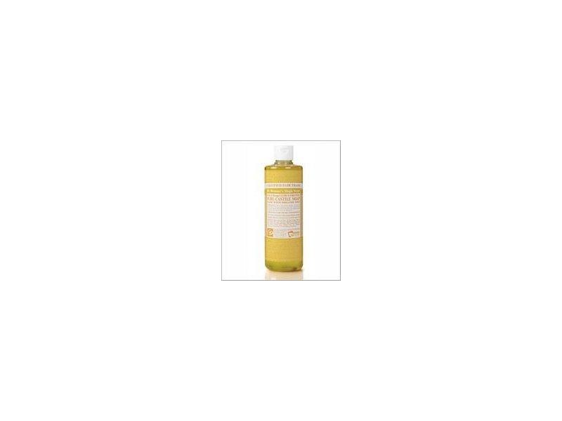 Dr. Bronner's 18-in-1 Hemp Citrus Pure-Castile Soap, 16 fl oz