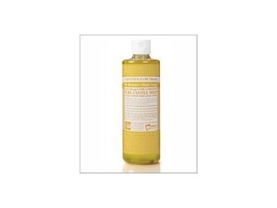 Dr. Bronner's 18-in-1 Hemp Citrus Pure-Castile Soap, 16 fl oz