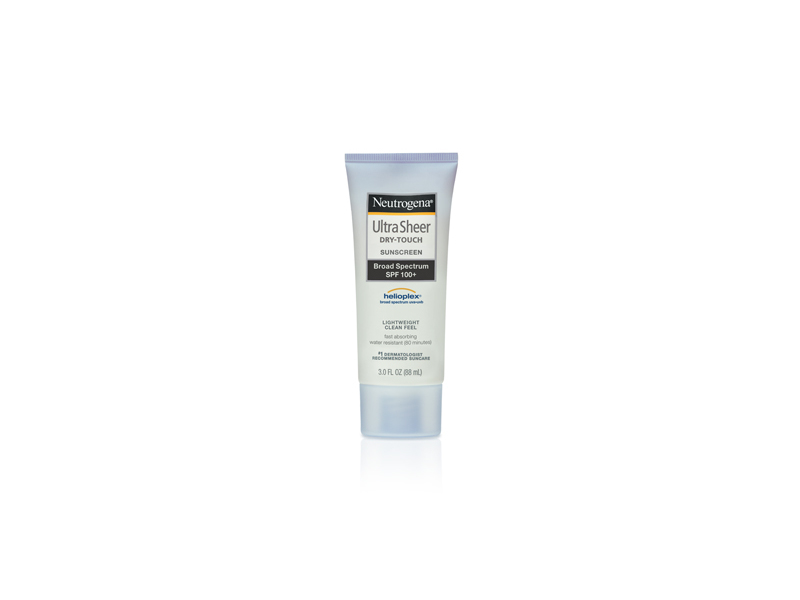 Neutrogena Ultra Sheer Dry-touch Sunscreen Broad Spectrum SPF-100+, Johnson & Johnson