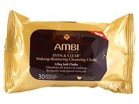Ambi Even & Clear Makeup Removing Cleansing Cloths, johnson & johnson - Image 1