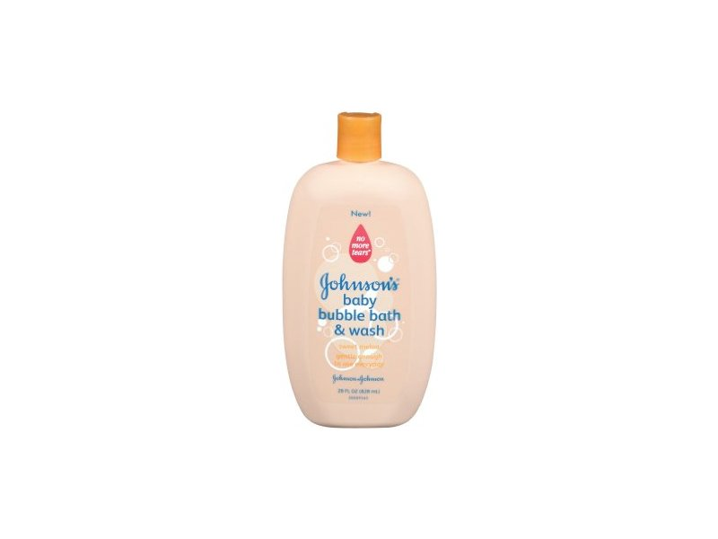 Johnson's Baby Bubble Bath & Wash with Sweet Melon, johnson & johnson
