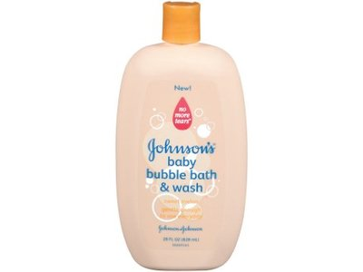 Johnson's Baby Bubble Bath & Wash with Sweet Melon, johnson & johnson
