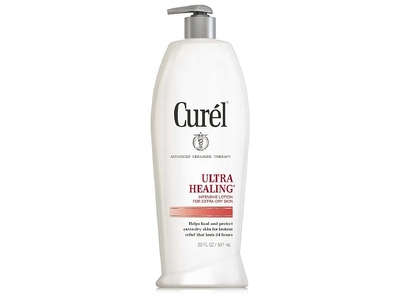 Curel Ultra Healing Lotion For Severely Dry Skin, 13 Ounces - Image 1