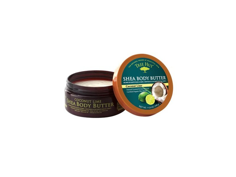 Tree Hut Coconut Lime Shea Body Butter with Coconut Lime Extracts 7 oz (198 g)