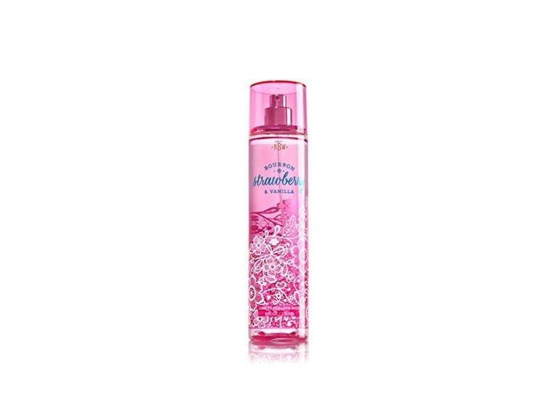 Bath and Body Works Fine Fragrance Mist, Bourbon Strawberry Vanilla, 8 Ounce Spray