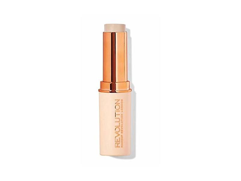 Makeup Revolution Fast Base Stick Foundation, F1, 0.21 oz