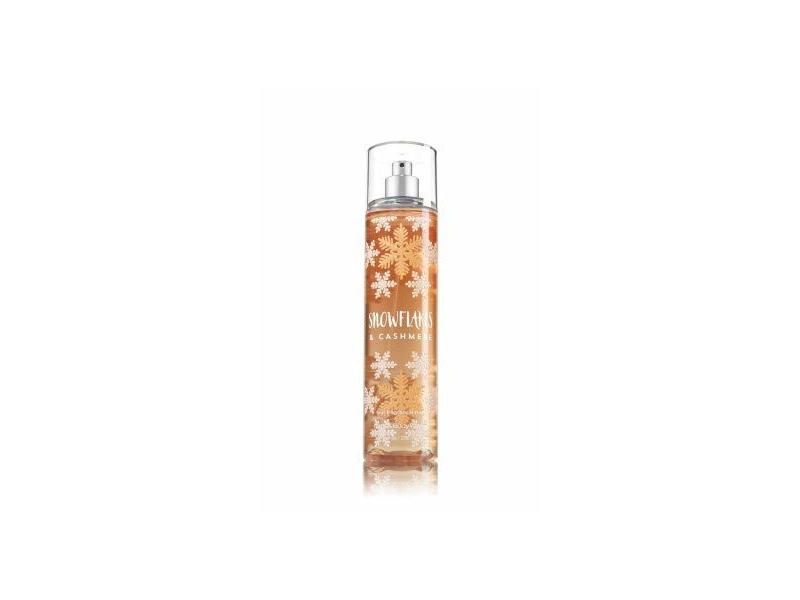 Bath and Body Works Cashmere Snowflakes Fine Fragrance Mist 8 Ounce Full Size