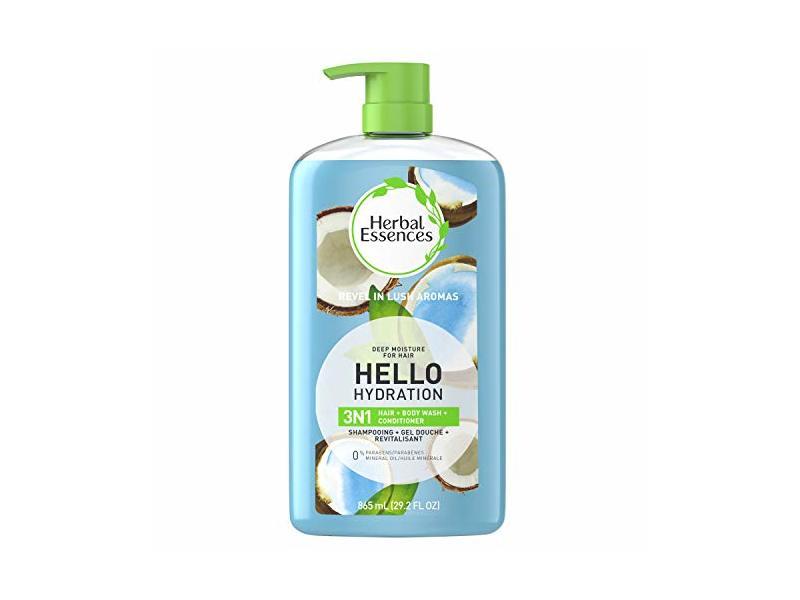 Herbal Essences Hello Hydration 3IN1Hair, Body Wash, Conditioner, 29.2 fl oz