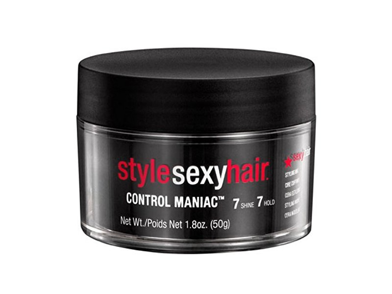 Style Sexy Hair Control Maniac Wax, (7 Shine- 7 Hold), 1.8 oz