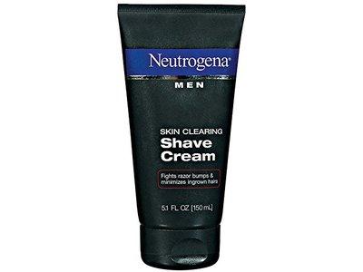 Neutrogena Men Skin Clearing Shave Cream, 5.1 oz