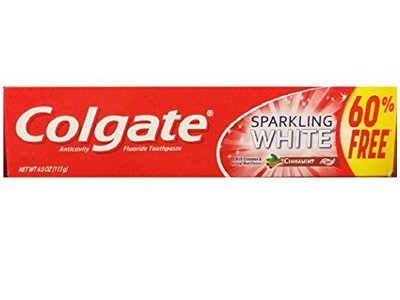 Colgate Anticavity Fluoride Toothpaste, Cinnamint, 4.0 fl oz - Image 1