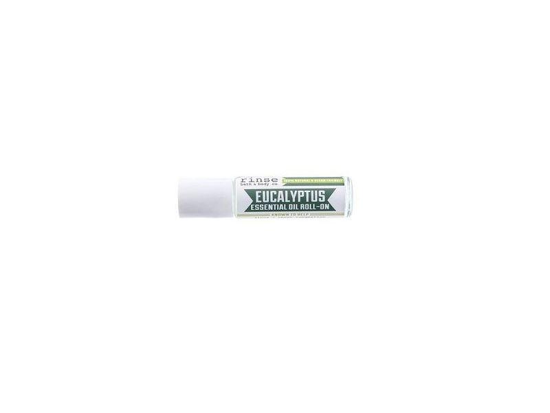 Rinse Bath & Body Co. Eucalyptus Essential Oil Roll-On, 0.44 fl oz