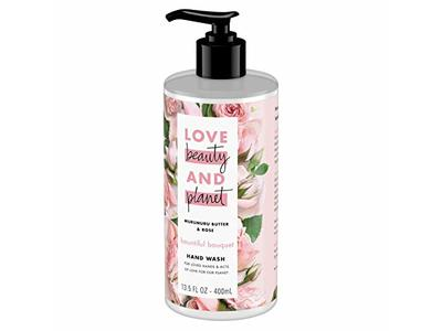 Love Beauty and Planet Bountiful Bouquet Murumuru Butter & Rose Hand Wash, 13.5 fl oz - Image 6