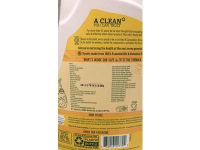 Seventh Generation Natural Liquid Laundry Detergent, Fresh Citrus, 100 fl oz - Image 4
