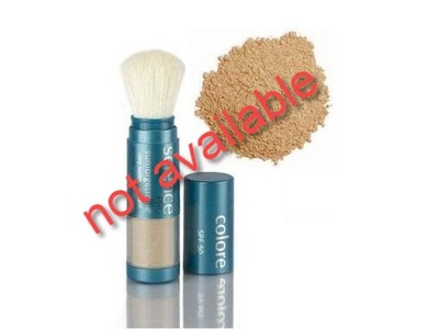 Colorescience Sunforgettable Brush-on Sunscreen, SPF 50, Matte, 0.21 oz.