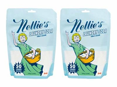 Nellie's Laundry Soda, 50 Load Bag (Pack of 2) - Image 1