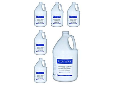 Biotone Advanced Therapy Massage Lotion, Gallon