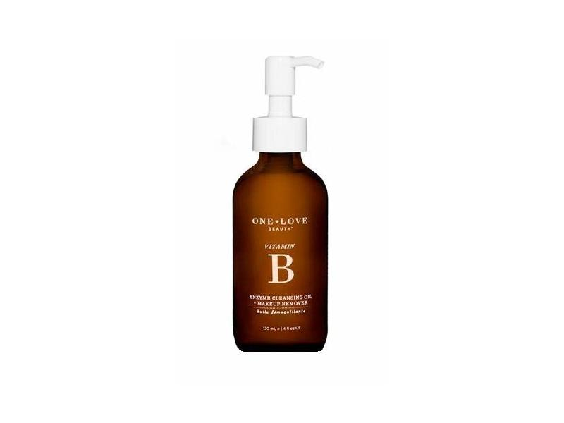 One Love Beauty vitamin b enzyme Cleansing Oil + Makeup Remover, 4 oz