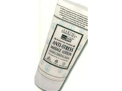 Earth Therapeutics Anti-Stress Massage Lotion, 5 fl oz