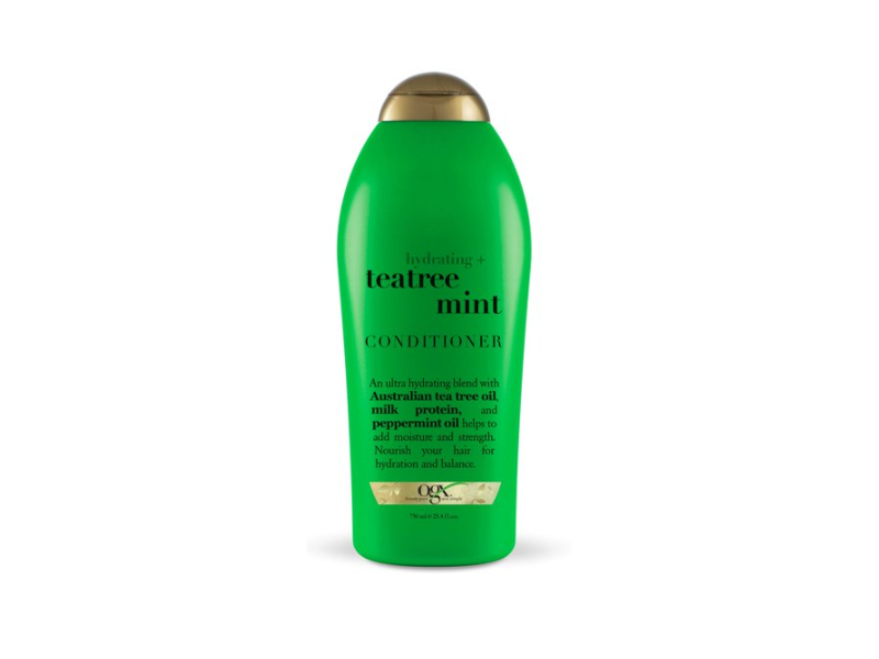 OGX Hydrating Tea Tree Mint Conditioner, 750 mL