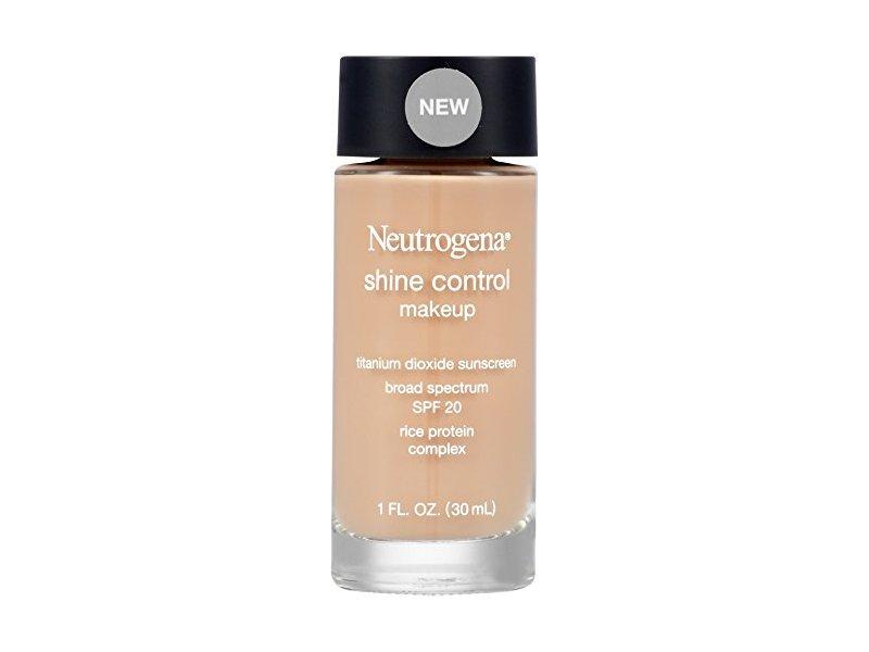 Neutrogena Shine Control Liquid Makeup SPF 20, Buff 30, 1 Ounce ...