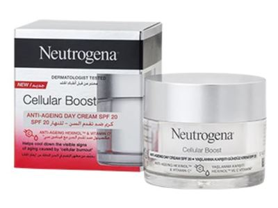 Neutrogena Cellular Boost SPF 20 Anti-Ageing Day Cream, 50 mL