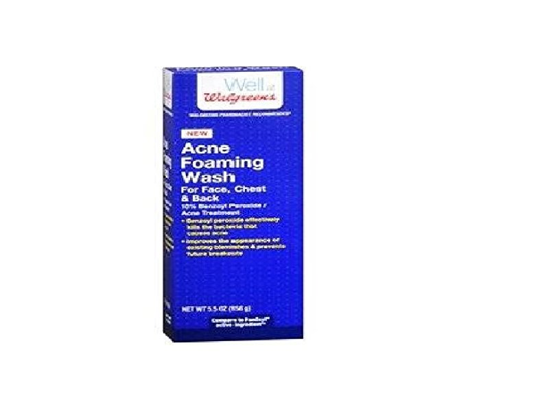 Walgreens Acne Foaming Wash 5 5 Oz Ingredients And Reviews