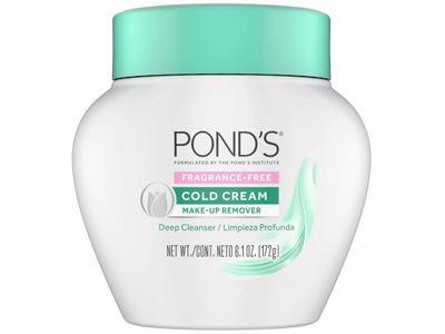 Pond's Cold Cream Fragrance Free Make-Up Remover, 6.1 oz