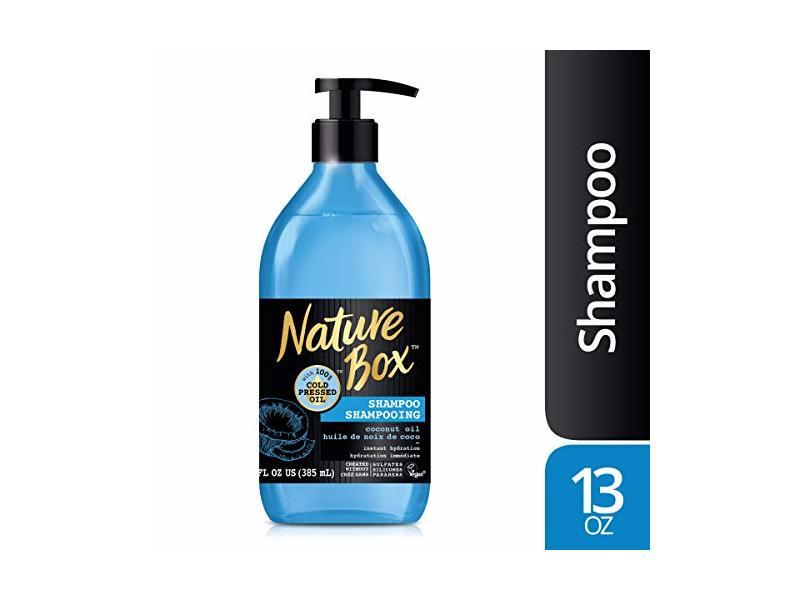 Nature Box Shampoo, Coconut Oil, 13 fl oz