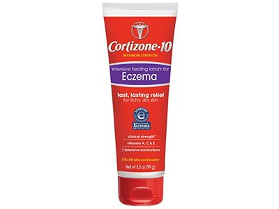Cortizone-10 Intensive Healing Eczema Lotion, 3.5 oz