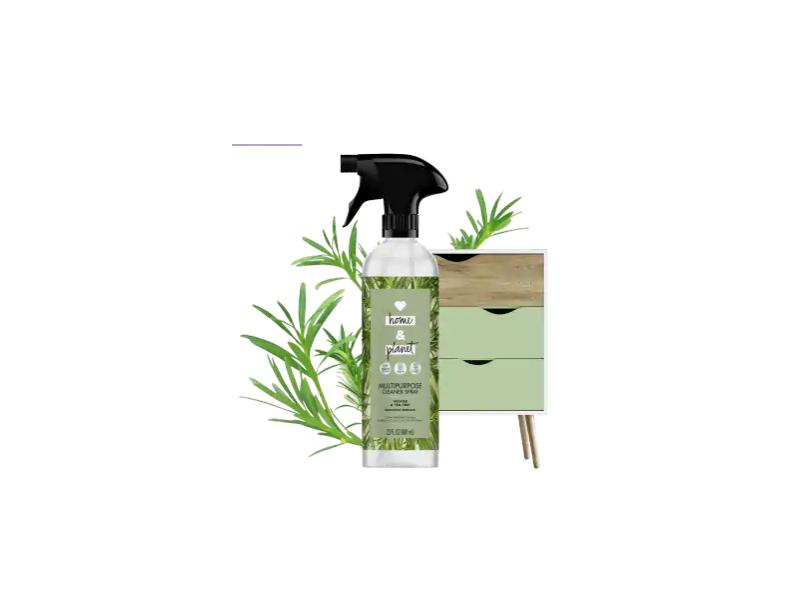 Love Home & Planet Multipurpose Cleaner Spray, Vetiver & Tea Tree, 23 fl oz