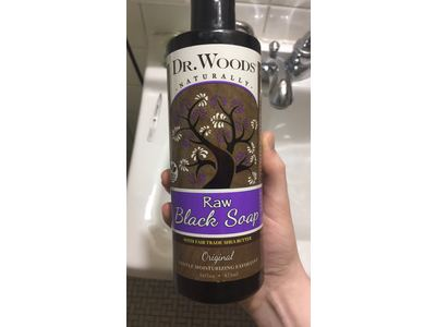 Dr Woods Naturally Raw Black Soap 16 Fl Oz Ingredients