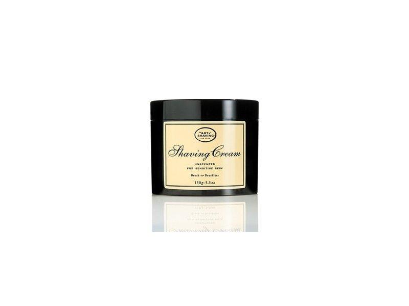 Art of Shaving Unscented Shave Cream for Sensitive Skin, 5 Oz