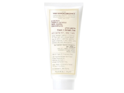 VMV Hypoallergenics Essence Simple-Gentle Skin-Saving Toothpaste, 2.65 oz - Image 3