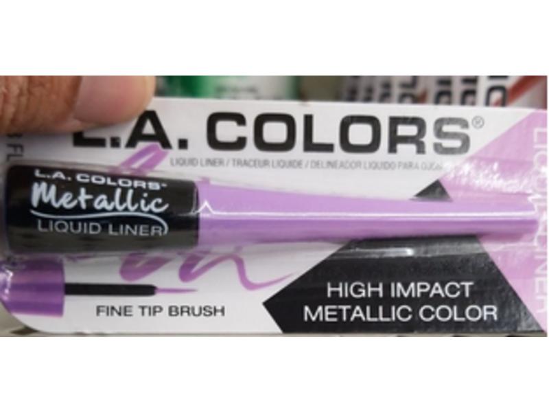LA Colors Metallic Liquid Liner, Metallic Lavender, 0.08 fl oz