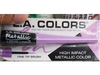LA Colors Metallic Liquid Liner, Metallic Lavender, 0.08 fl oz - Image 2