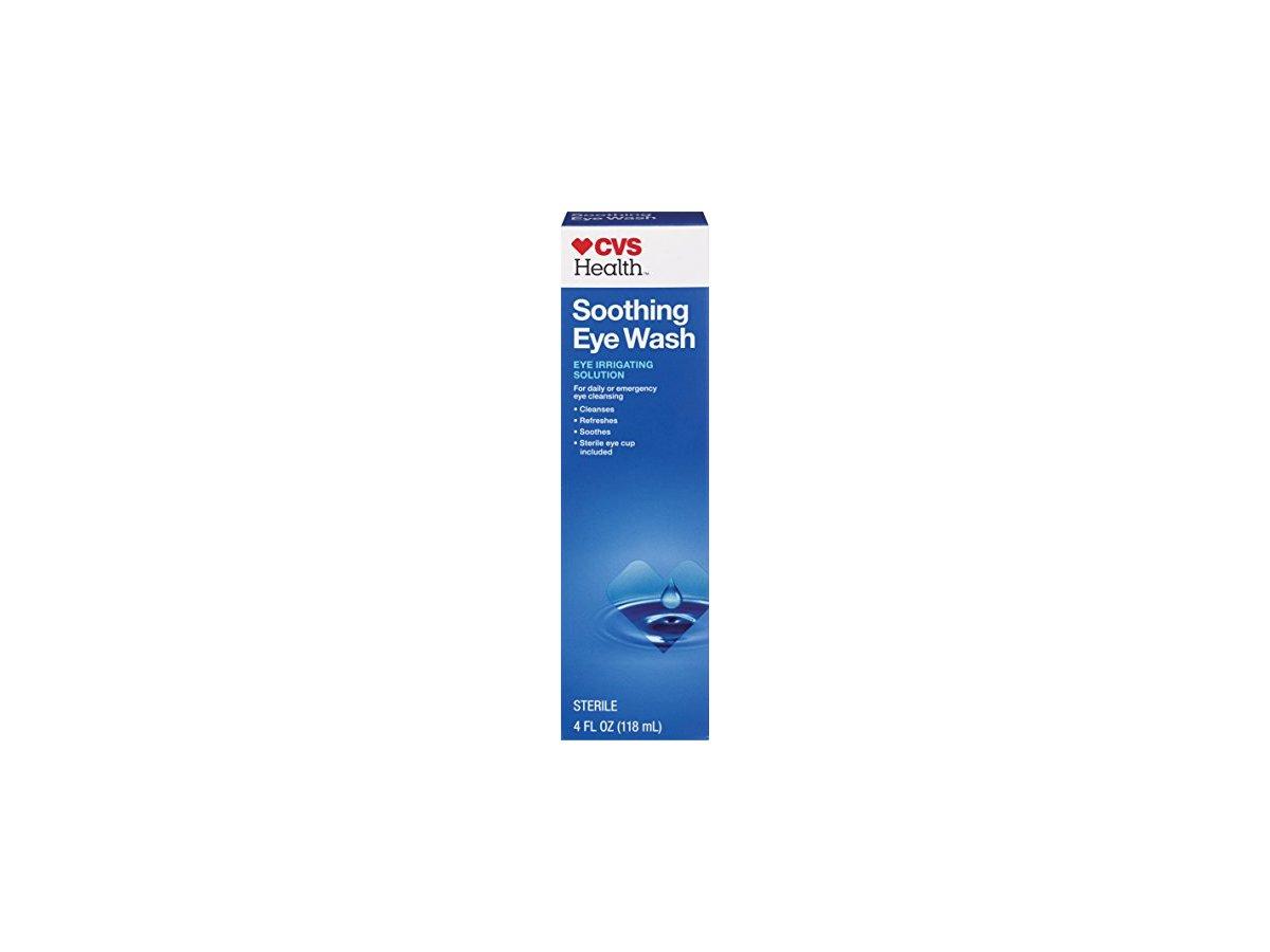 cvs soothing eye wash  4 fl oz ingredients and reviews