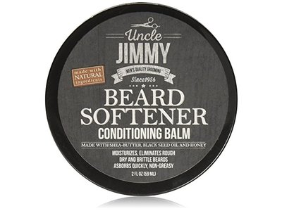 Uncle Jimmy Beard Softener Conditioning Balm, 2 fl oz