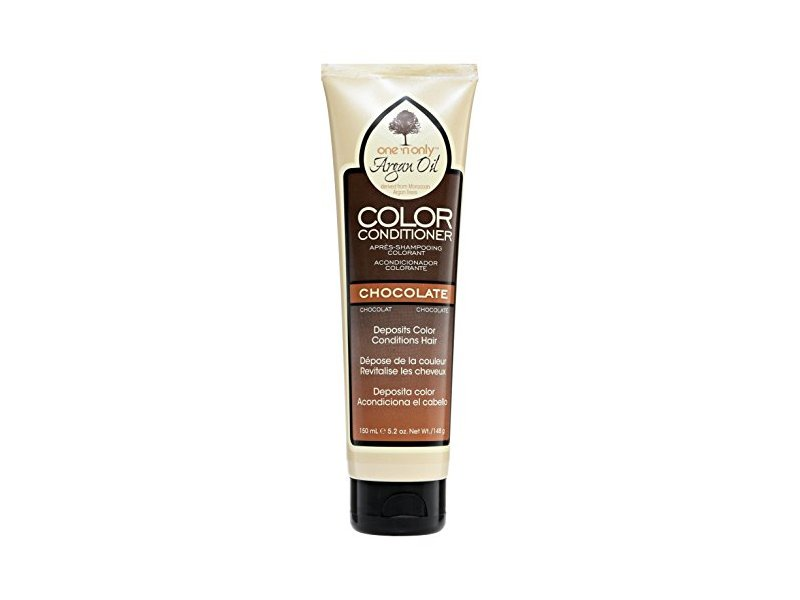One N Only Argan Oil Color Conditioner, Chocolate, 5.2 oz / 150 mL