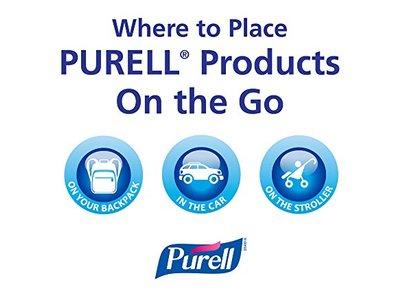 PURELL Advanced Hand Sanitizer Gel, Refreshing Fragrance, 1 fl oz (Pack of 36) - Image 12