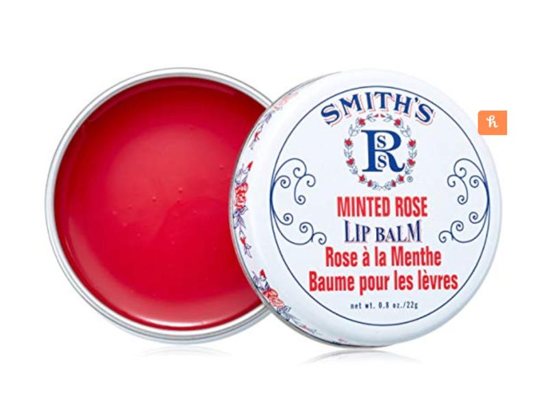 Smith's Rosebud Minted Rose Lip Balm Tin - 3 Pack