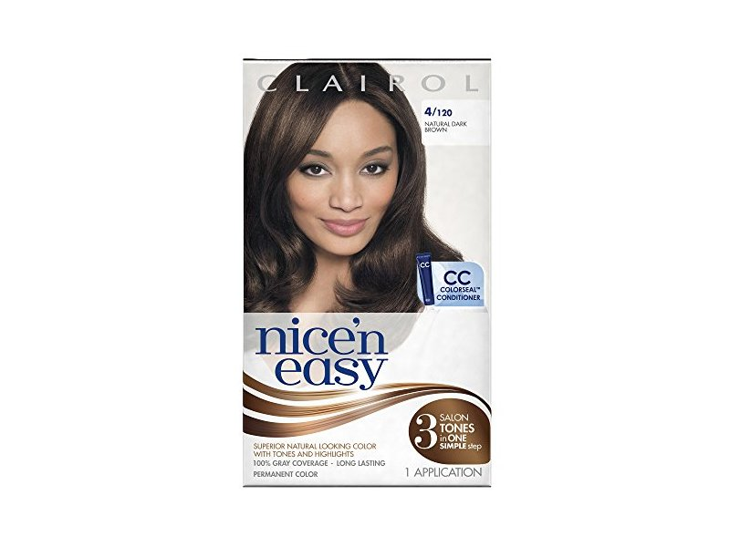 Clairol Nice N Easy 4120 Natural Dark Brown 1 Kit Ingredients