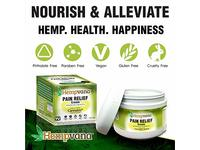 Original Hempvana Pain Relief Cream by BulbHead - The Hemp Cream for Pain Relief & Joint Pain Relief with Cannabis Seed Extract - Image 4